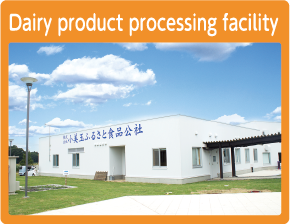 Dairy product processing facility
